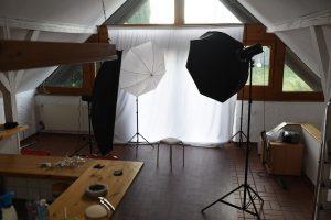 fotoshooting im studio Fotostudio Lichtanlage